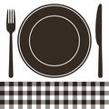 Cutlery, plate and tablecloth pattern - PhotoDune Item for Sale