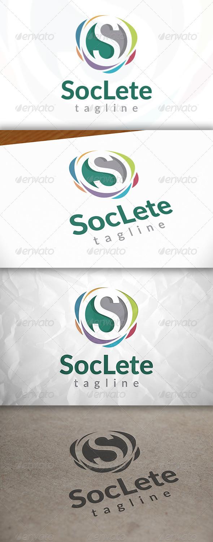GraphicRiver Social Colors Logo 8659330