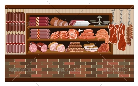 GraphicRiver Meat Market 8659345