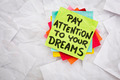 pay attention to your dreams - PhotoDune Item for Sale