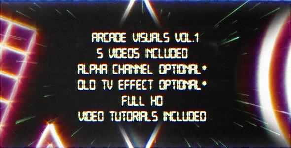 Retro Arcade Visuals Vol.1