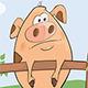 Pig Gang Cartoon - GraphicRiver Item for Sale