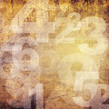 retro style numbers - PhotoDune Item for Sale