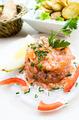 Fresh Salmon with lemon - PhotoDune Item for Sale