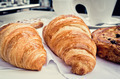 Breakfast with coffee and croissants - PhotoDune Item for Sale