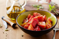 Bowl of raw tomato salad - PhotoDune Item for Sale