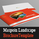 Maspoin Landscape Brochure Template - GraphicRiver Item for Sale