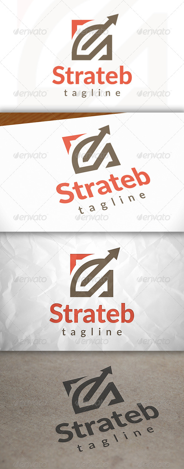 GraphicRiver Strategy Logo Template 8659836