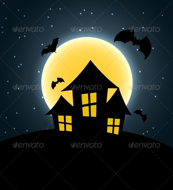 GraphicRiver Halloween Background 8660165