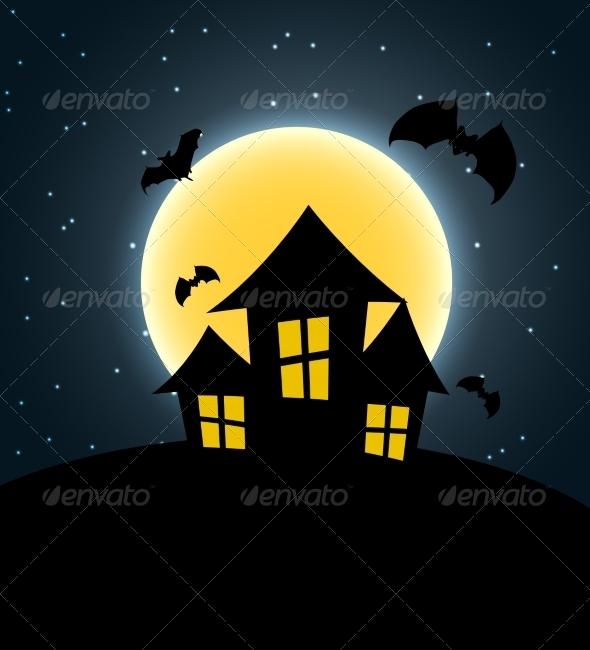 GraphicRiver Halloween Background 8660165