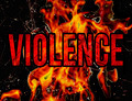 Violence Typography Grunge Style Illustration Design - PhotoDune Item for Sale