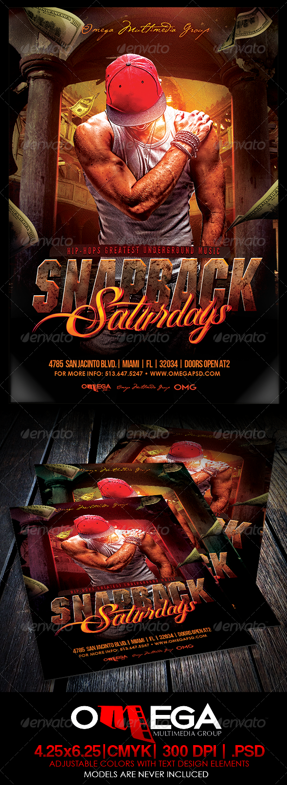 GraphicRiver Snapback Saturdays 8660698