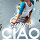Super Ciao Party Flyer - GraphicRiver Item for Sale