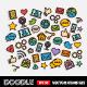 Doodle Social Network Set - GraphicRiver Item for Sale