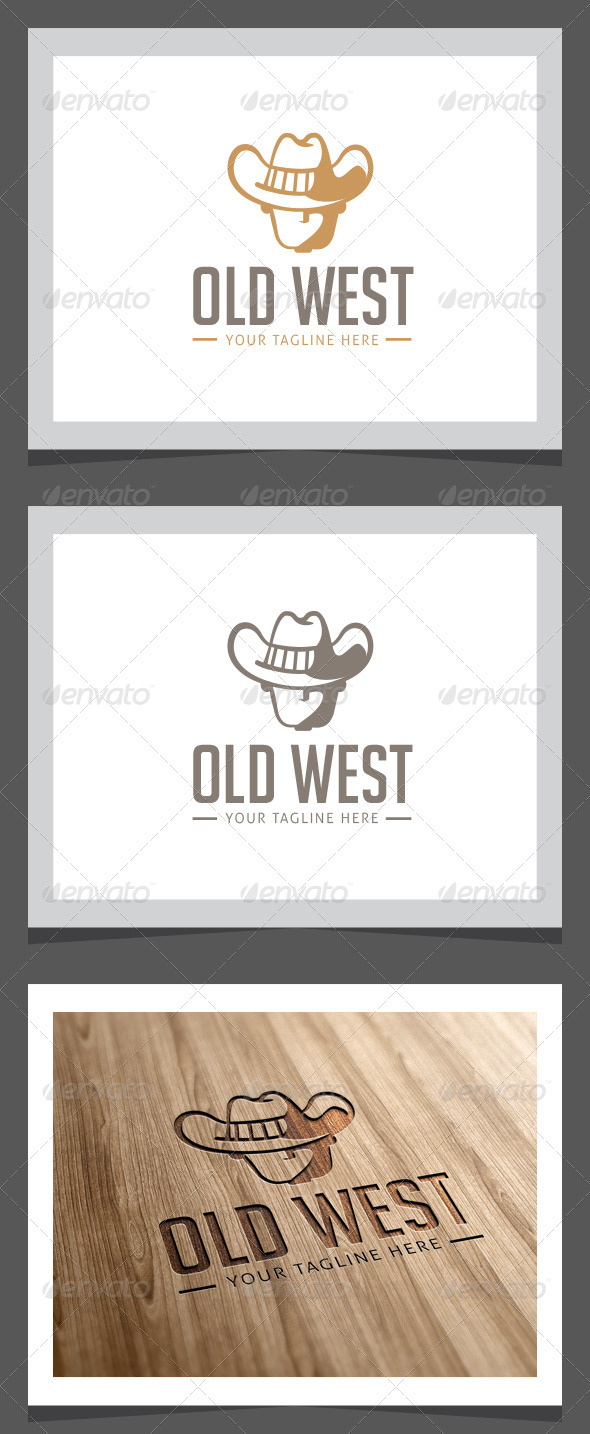 GraphicRiver Old West Logo Template 8646181