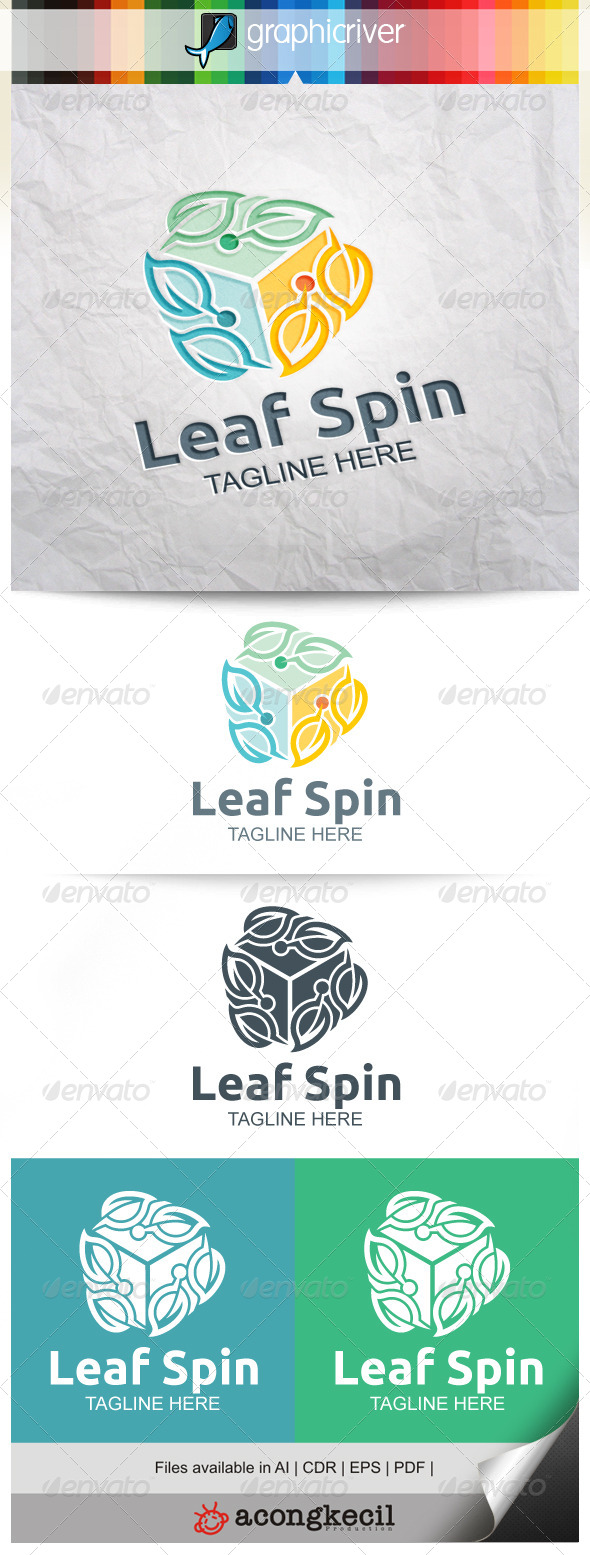 GraphicRiver Leaf Spin V.3 8661118