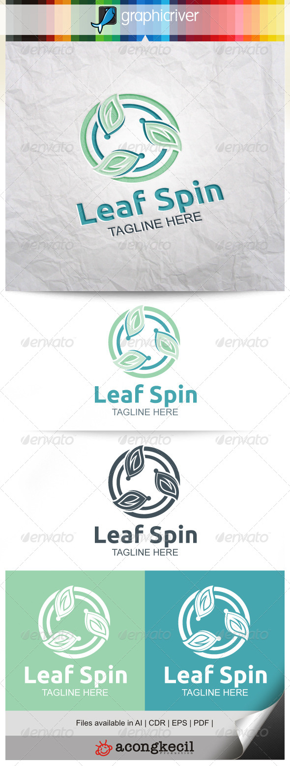 GraphicRiver Leaf Spin V.4 8661136