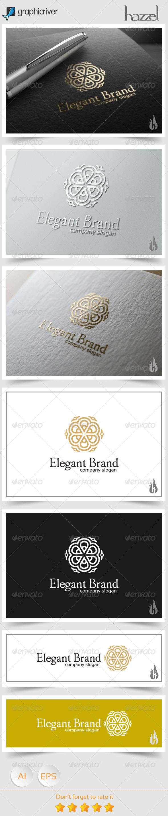 GraphicRiver Elegant Brand Logo 8661149