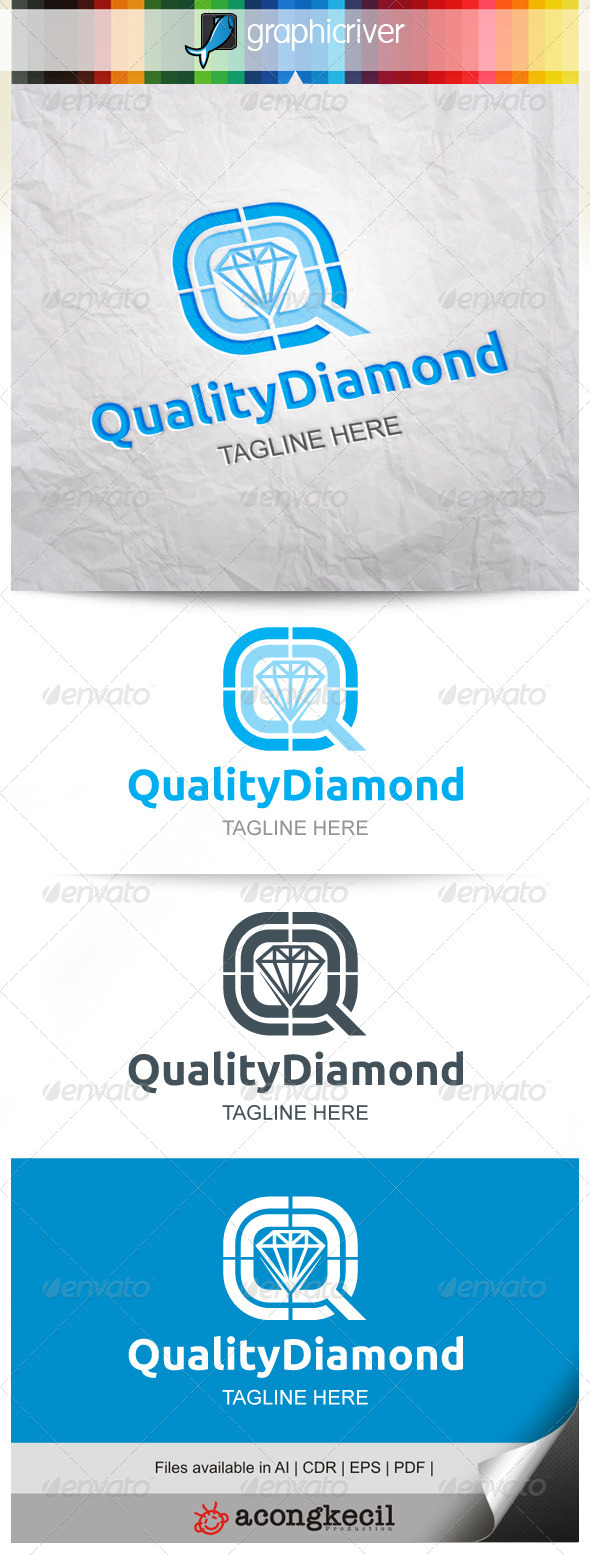 GraphicRiver Quality Diamond 8661213