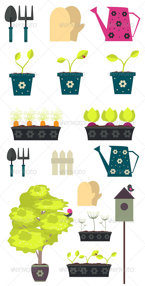 GraphicRiver Gardening 8661262