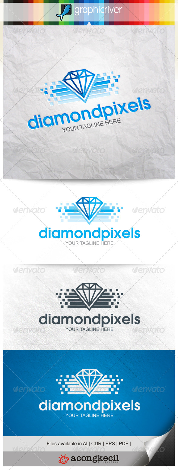 GraphicRiver Diamond Pixels V.3 8661273