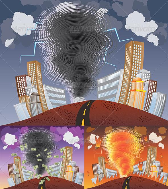 GraphicRiver Powerful Tornado 8661311