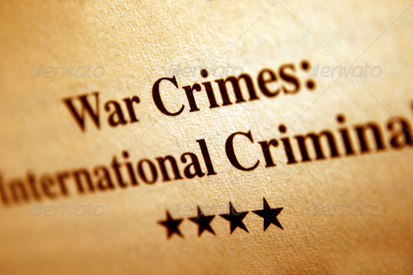 War crime - Stock Photo - Images