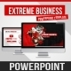 Extreme Bussiness PowerPoint Template - GraphicRiver Item for Sale
