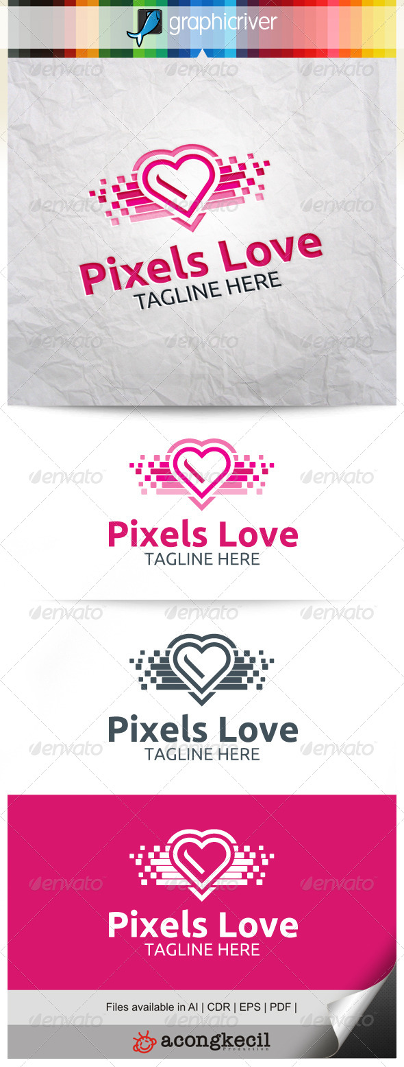 GraphicRiver Pixels Love V.3 8661384
