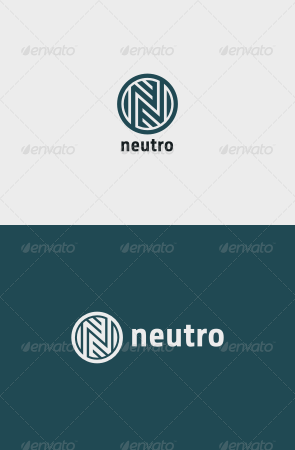 GraphicRiver Neutro Logo 8661399