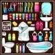 Bathroom Equipment Set.  - GraphicRiver Item for Sale