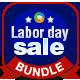 Labor Day Banner Bundle - 3 Sets - GraphicRiver Item for Sale