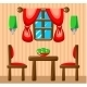Dining Room Interior. - GraphicRiver Item for Sale