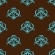 Retro Azure Seamless Pattern - GraphicRiver Item for Sale