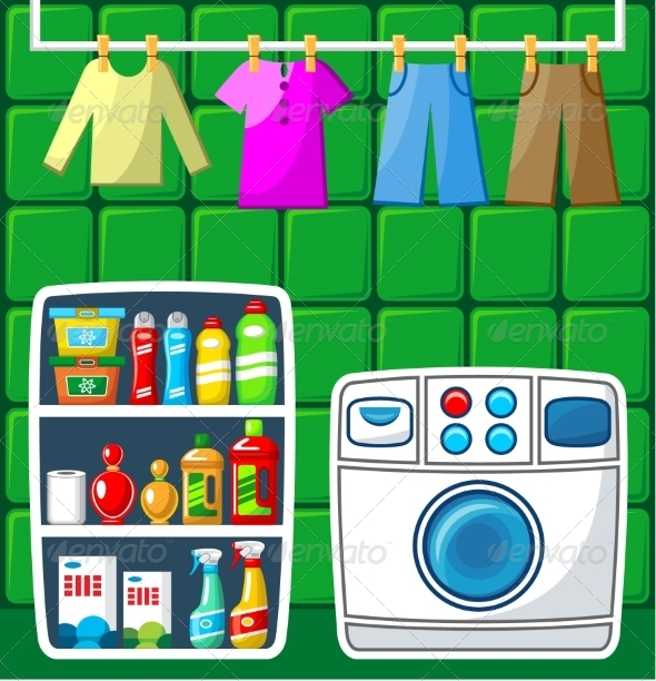 GraphicRiver Washing Room 8661519