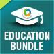 Education Banner Bundle - 3 Sets - GraphicRiver Item for Sale