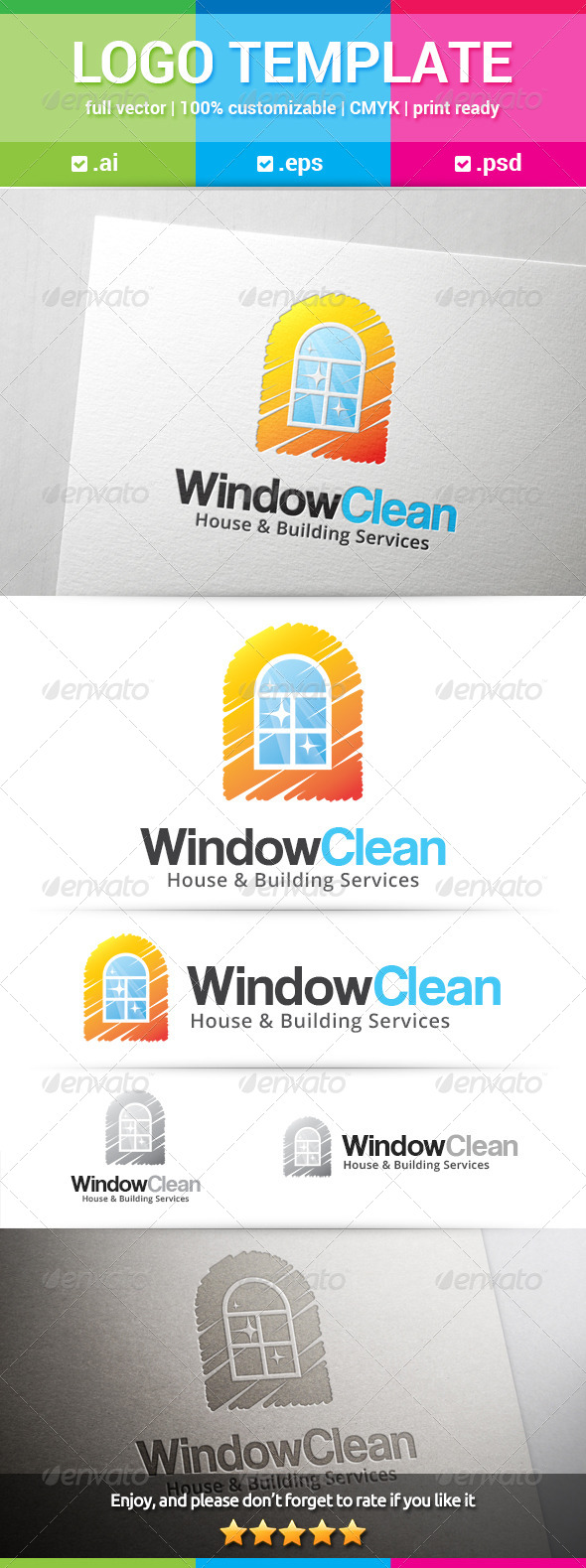 GraphicRiver Window Clean Logo 8661530