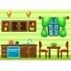 Kitchen Interior.  - GraphicRiver Item for Sale