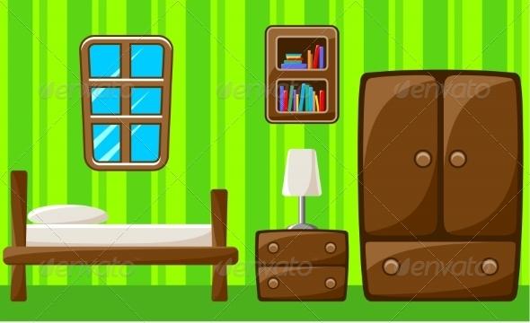GraphicRiver Bedroom Interior 8662111