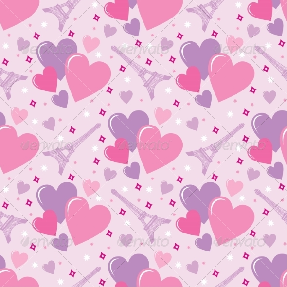 GraphicRiver Seamless Hearts Pattern 8662124
