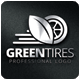 Green Tires Logo Template - GraphicRiver Item for Sale