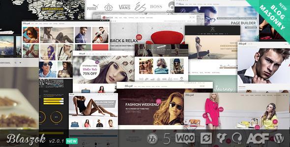 Blaszok - Ultimate Multi-Purpose Responsive Theme - WooCommerce eCommerce