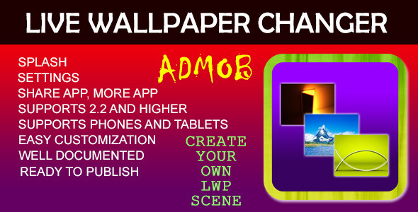 Download Live Wallpaper Changer - AdMob nulled download