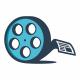 Movie News Logo - GraphicRiver Item for Sale