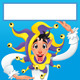 Funny Joker Smiling with White Frame - GraphicRiver Item for Sale