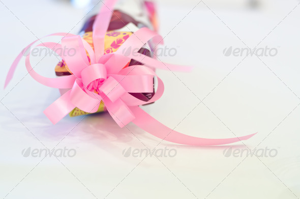 Pink ribbon - Stock Photo - Images
