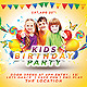 Kids Birthday Party  - GraphicRiver Item for Sale
