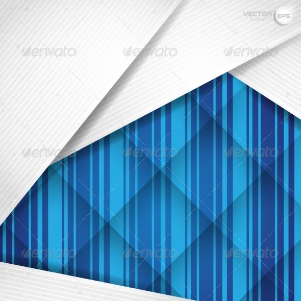 GraphicRiver Abstract Background With White Paper Layers 8664285