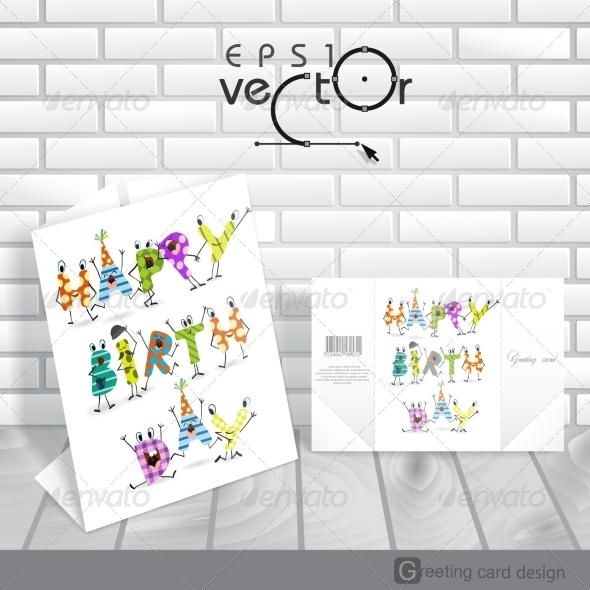 GraphicRiver Greeting Card Design Template 8664290