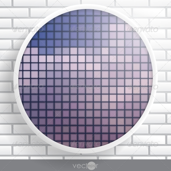 GraphicRiver Abstract Round Shape With Frame 8664292